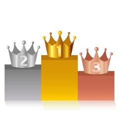 表彰 王冠 クラウン