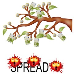 spread money