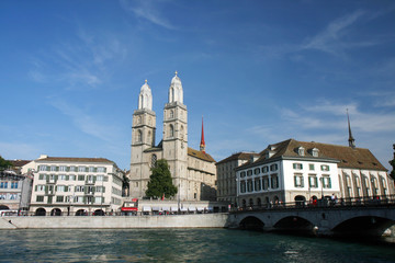 Zürich, view across Limat 5
