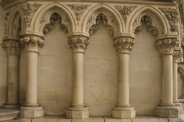 columnas góticas