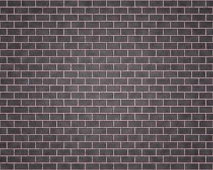 Wall of black and gray bricks