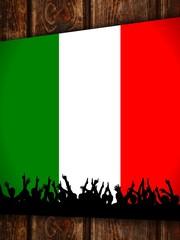 zettl-brettl td xxxl italien-fahne I