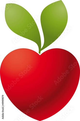 Logo love apple