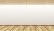 canvas print picture - empty gallery