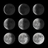 Fototapeta Lunar - astronomia - Noc