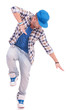 dancer on one leg in dance position