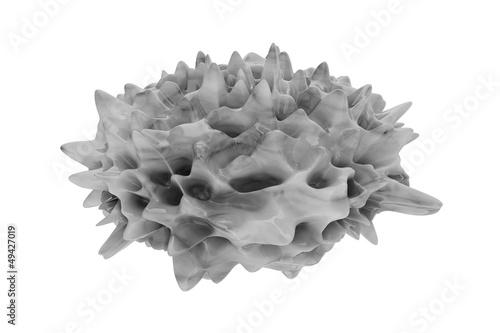 Psoriasis (Schuppenflechte) - 3D Render