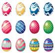 Easter eggs for the easter Sunday egg hunt