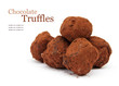 Chocolate Truffles with Text