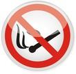 panneau flamme nue interdite et défense de fumer