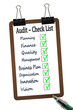 Business  Audit - Check List