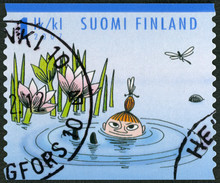 FINLANDE - 2007: montre la fille de Mymble, personnages Moomin