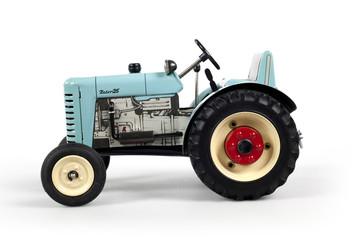 il fianco del trattore