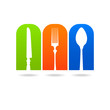 kitchen fork spoon knife logo