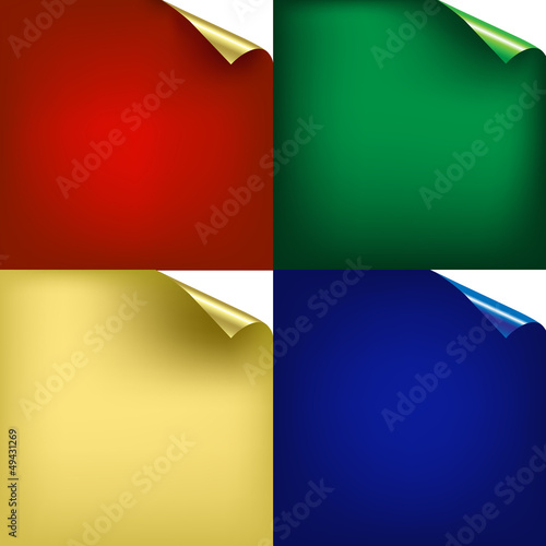Color Backgrounds With Corners