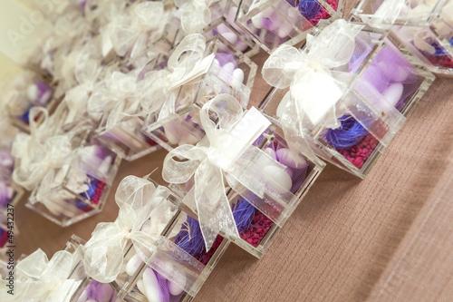 bonbonierre, fancy sweet-box in wedding