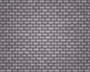 Wall with different gray bricks