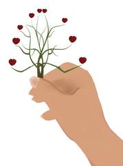 albero del cuore