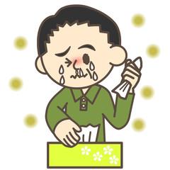 花粉症のおじさん