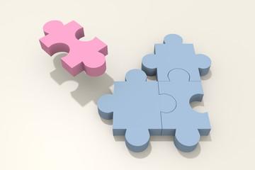 Puzzle_1Pink_3Blue