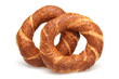 Simit, Pretzel