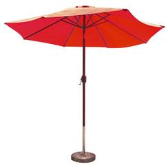 parasol, jardin, plage