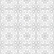 Seamless traditional silver wallpaper