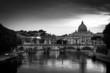 Fototapete Tiber - Vatikan - Religiöses Denkmal