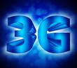 3G network symbol