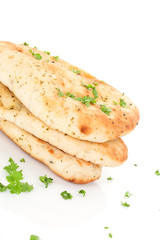 Luxurious naan background.