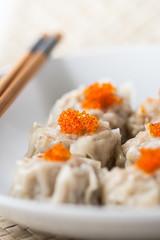 shumai Chinese dumpling dim sum