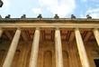 the columns of Blenheim Palace, england, uk