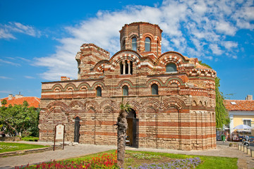 The Christ Pantocrator Curch in Nessebar, Bulgaria.
