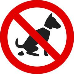 Hundekot verboten