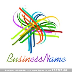 abstract business logo