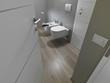 sanitari sospesi nel bagno moderno