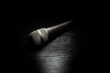 Dark microphone