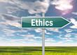 "Signpost ""Ethics"""