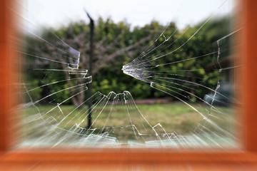 vitre brisée