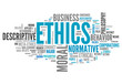 "Word Cloud ""Ethics"""