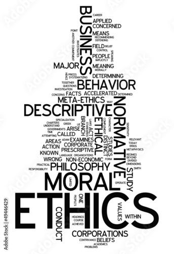 "Word Cloud ""Ethics"""