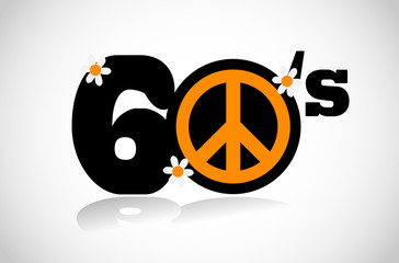 sixties peace symbol