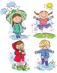 Spring children