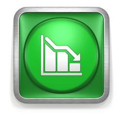 Chart_Arrow_Down_Green_Button