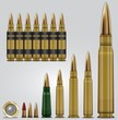 Rifle ammo set
