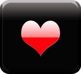 Boton corazon