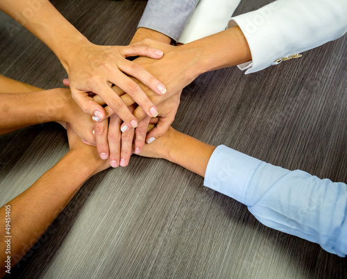 canvas print picture Business team