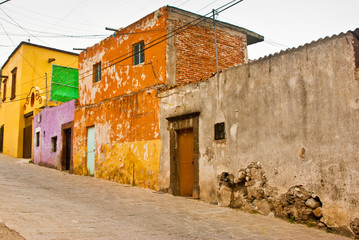 Mexican Grunge Houses