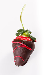 dark chocolate strawberry