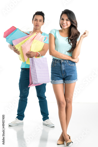 No more shopping!